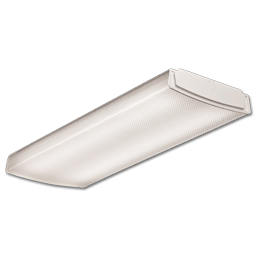 Picture of 2' LOW-PROFILE CURVED BASKET LED WRAPAROUND FIXTURE