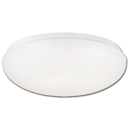 "Picture of 11"" LED INDOOR FLUSH MOUNT CEILING FIXTURE - WHITE"