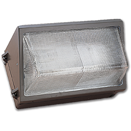 Picture of 70W HPS SMALL WALL PACK WITH GLASS DIFFUSER - BRONZE