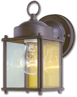 Picture of 1-LIGHT WALL LANTERN- RUBBED BRONZE