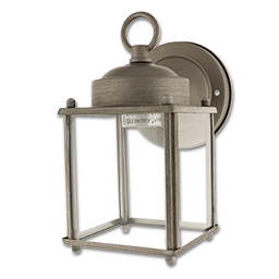 Picture of 1-LIGHT WALL LANTERN- ANTIQUE SILVER