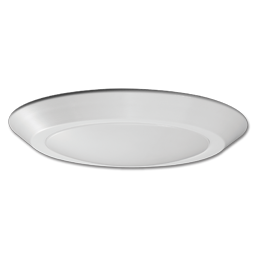 "Picture of 10"" LED FLUSH MOUNT FIXTURE - WHITE (WET LOCATION)"