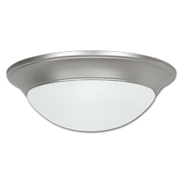 "Picture of 14"" LED CEILING FIXTURE - SATIN NICKEL"