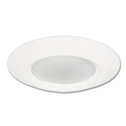 "Picture of 7-1/2"" DISK LED CEILING FIXTURE - WHITE"