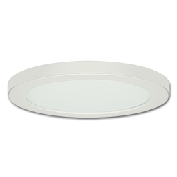 "Picture of 10"" LED ROUND PANEL FIXTURE - WHITE"