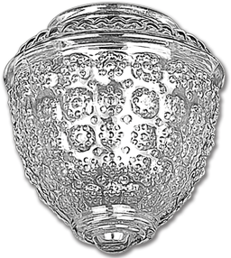 "Picture of ACORN PORCH GLOBE 3-1/4"" FITTER - 4/PK"