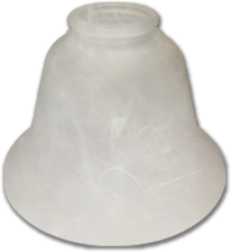 Picture of REPLACEMENT GLASS 163185 LIGHT FIXTURE - ALABASTER - 4PK
