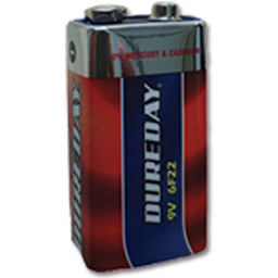 Picture of DUREDAY ULTRA 9V EXTRA HEAVY DUTY BATTERY