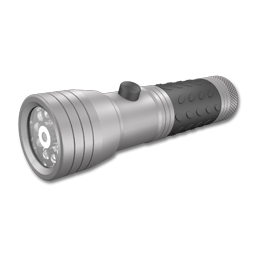 Picture of RAYOVAC BRITE ESSENTIALS LED FLASHLIGHT WITH LASER POINTER
