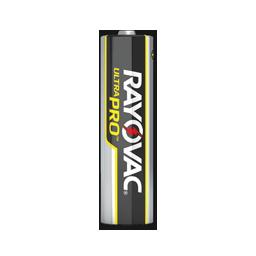 RAYOVAC ULTRAPRO AA ALKALINE BATTERY 24/PK