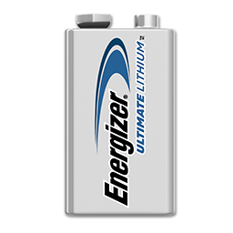 ENERGIZER 9V LITHIUM BATTERY