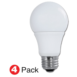 Picture of 9W A19 LED BULB -2700K -4/PK