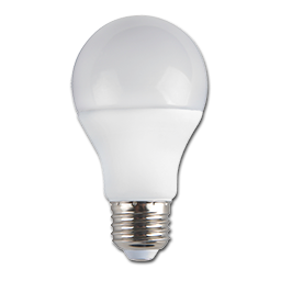 Picture of 10 WATT LED - A19 SHAPE - 4100K - 24/CS