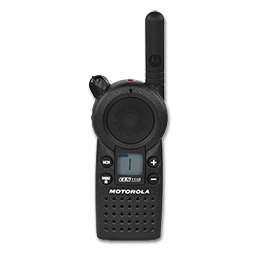 Picture of MOTOROLA UHF 1 WATT 1 CHANNEL RADIO - CLS1110