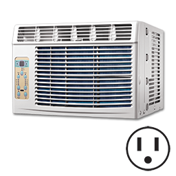 Picture of COMFORT-AIRE 5000 BTU COOL ONLY WINDOW UNIT 115V
