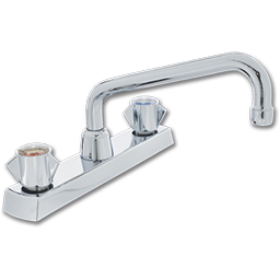 Picture of SAYCO TWO HANDLE KITCHEN FAUCET WITH SPRAY - CHROME