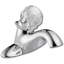 Picture of DELTA SINGLE HANDLE LAVATORY FAUCET WITH POP-UP - CHROME
