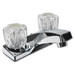 Picture of WHITEFALLS TWO HANDLE LAVATORY FAUCET W/POP-UP - CHROME