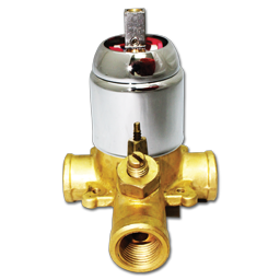 Picture of WHITEFALLS CERAMIC PRESSURE BALANCE VALVE ONLY- CHROME
