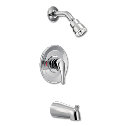 Picture of CFG SHOWER TUB AND SHOWER TRIM KIT- SINGLE LEVER - CHROME