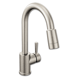 Picture of CFG EDGESTONE ONE HANDLE PULLDOWN FAUCET -CLASSIC STAINLESS
