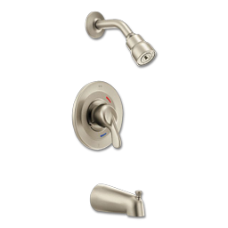 Picture of CFG TUB & SHOWER TRIM KIT - SINGLE LEVER - BRUSHED NICKEL
