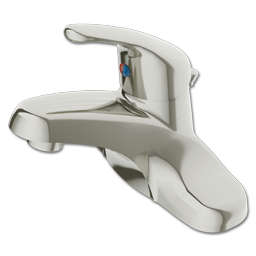 Picture of CFG CORNERSTONE SINGLE LEVER LAVATORY FAUCET WITH POP-UP - BRUSHED NICKEL