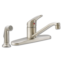Picture of CFG SINGLE HANDLE KITCHEN FAUCET WITH SPRAY - STAINLESS STEEL