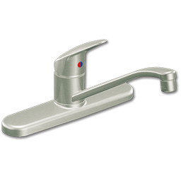 Picture of CFG SINGLE HANDLE KITCHEN FAUCET WITHOUT SPRAY - STAINLESS STEEL