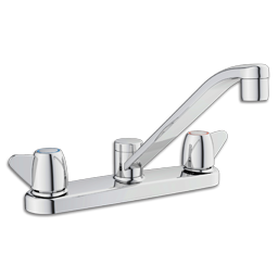 Picture of CFG CORNERSTONE TWO HANDLE KITCHEN FAUCET WITHOUT SPRAY - CHROME