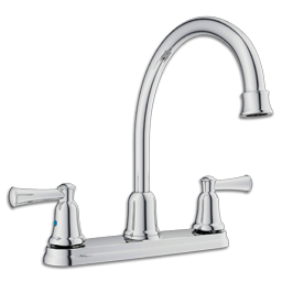 Picture of CFG CAPSTONE TWO HANDLE HIGH ARC KITCHEN FAUCET WITHOUT SPRAY - CHROME