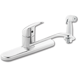 Picture of CFG CORNERSTONE SINGLE HANDLE KITCHEN FAUCET WITH SPRAY - CHROME