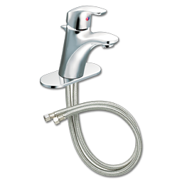Picture of CFG BAYSTONE SINGLE LEVER LAVATORY FAUCET W/POP-UP - CHROME