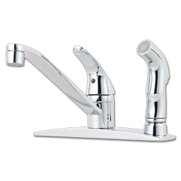Picture of PFISTER SINGLE LEVER KITCHEN FAUCET WITH SPRAY - CHROME