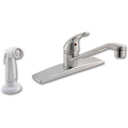 Picture of PFISTER SINGLE LEVER KITCHEN FAUCET STAINLESS STEEL WITH SPRAY - STAINLESS STEEL