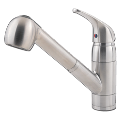 Picture of PFISTER SINGLE LEVER KITCHEN FAUCET WITH PULL-OUT - STAINLESS STEEL