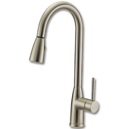 Chadwell Supply Whitefalls Single Handle Pull Down Kitchen Faucet