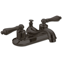 Picture of WSL-WHITEFALLS 2-HANDLE LAVATORY FAUCET W/POPUP - OIL RUBBED BRONZE