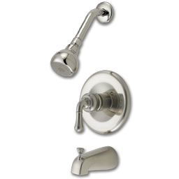 Picture of WHITEFALLS TUB/SHOWER FAUCET WITH PRESSURE BALANCE VALVE - OIL RUBBED BRONZE