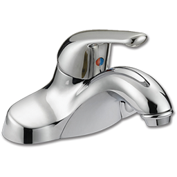 Picture of WHITEFALLS SINGLE HANDLE LAVATORY FAUCET WITHOUT POP-UP - CHROME