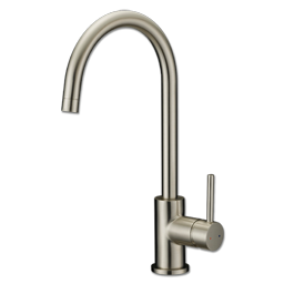 Picture of WHITEFALLS CLASSIC HI ARC SINGLE LEVER KITCHEN FAUCET - BRUSHED NICKEL