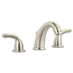 "Picture of WHITEFALLS 8""-16"" WIDESPREAD LAVATORY FAUCET BRUSHED NICKEL W/POP-UP"