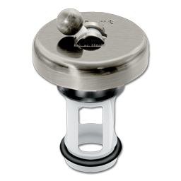Picture of FLIP-IT JR. UNIVERSAL SINK STOPPER - BRUSHED NICKEL