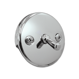 Picture of OVERFLOW PLATE WITH TRIP LEVER - CHROME