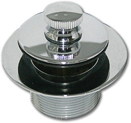 """Picture of SAYCO PUSH & PULL TUB STOPPER 1-5/8"""" OD X 14 TPI"""