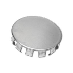 """Picture of 1-1/2"""" SNAP-IN CHROME PLATED FAUCET HOLE COVER"""