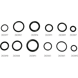 "Picture of 210 O-RING R-45 - 100/PK 1""OD; 3/4ID; 1/8TH"