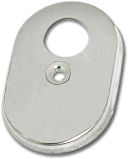 "Picture of OVAL ESCUTCHEON PLATE FOR GERBER - 2-3/4"" X 4-1/4"""