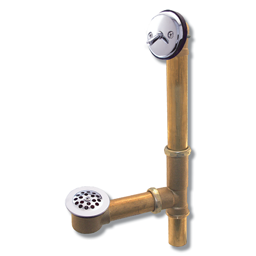 Picture of METAL BATH WASTE PLUNGER UNIT WITH TRIP LEVER - 20 GAUGE