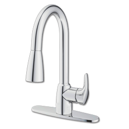 Picture of CFG BAYSTONE ONE HANDLE PULL-DOWN KITCHEN FAUCET - CHROME